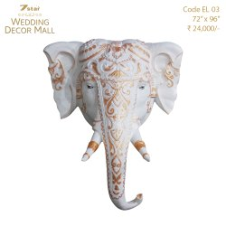 EL03 Fiberglass Elephant