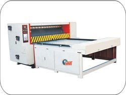 Single Color Flexo Printing Rotary Die Cutting Machine