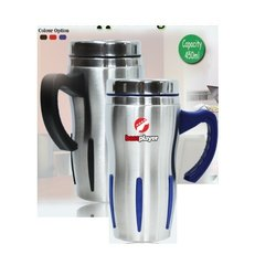 Steel Sipper Mug with Handle H-707