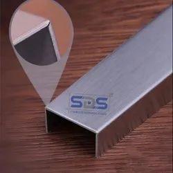 Stainless Steel Tile Trim u Shape Profile