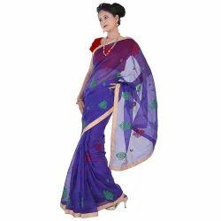 Zari Resham Banarasi Supernet Saree 280