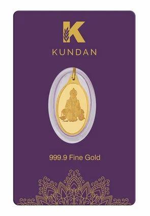 2 70g Gold Pendant (999 9) - Hanuman