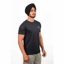 Airsnipe Plain Men Round Neck Polyester T Shirt, Size: S-XXL