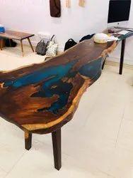Wood & Epoxy Epoxy Table Top