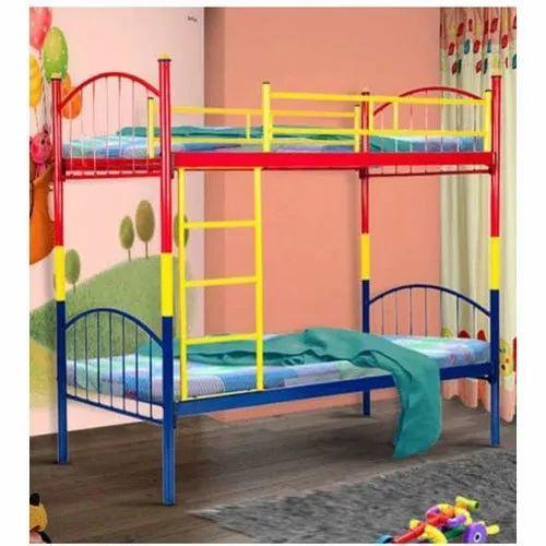 Mild Steel Hostel Bunk Bed