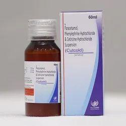 Paracetamol Phenylephrine Hydrochloride  Cetirizine Hydrochloride Suspension