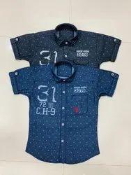 a2240b88 B-Trend Cotton Boys Shirt, Packaging Type: Box