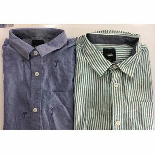 9-14 Years Cotton Boys Shirt