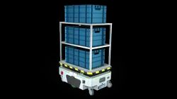 Unit Load-1500 kg Automated Guided Vehicle (AGV)