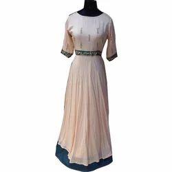 Ladies Long Designer Gown
