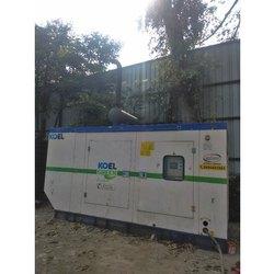 Room Acoustic Enclosure for Diesel Generators