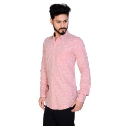 Cotton Full AADHAR PRINTED SHIRTS, Size: S To 2xl