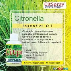 Pure Natural Citronella Oil