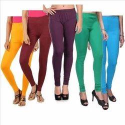 Cotton Ladies Elegant Leggings, Size: Large And XL