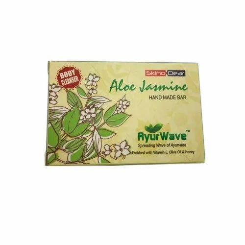 Ayur Wave Aloe Vera And Jasmine Handmade Soap