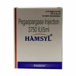Pegasparagase Injection 3750iu/5 ml