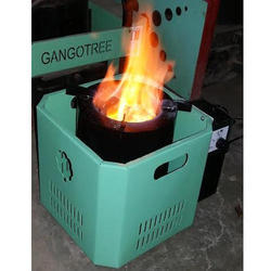 Domestic Cooking Pellet Stove