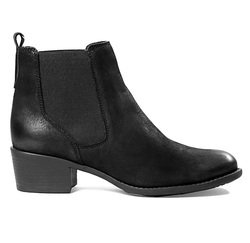 Ladies Formal Black Leather Chelsea Boots, Size: 36-41