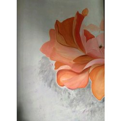 Floral Wall Painting Service