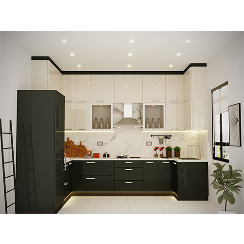 Open Kitchen Noida: Modular Kitchen And LCD TV Unit Manufacturer