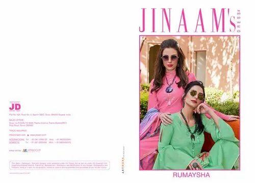 9e7fed1fdd Jinaam Cotton Jinaam Dress Present Suit, Rs 1595 /piece, Vastradeal ...