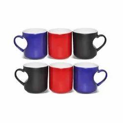 Magic Heart Shape Coffee Mug