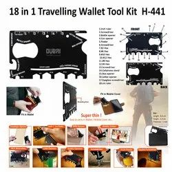 18 in 1 Travel Tool Kit