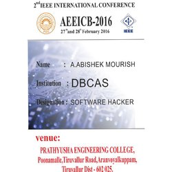 Conference ID Card
