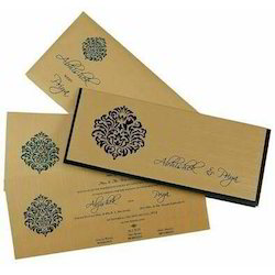 Book Style Royal Wedding Cards