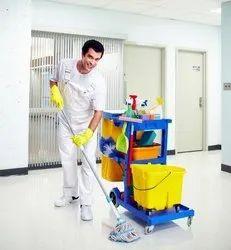 Male Housekeeping Staff