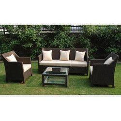 Outdoor Living Room Sofa