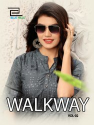 Walkway Vol-2 New Latest Printed Anarkali Rayon Kurtis