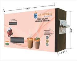 Soup Sachet Vending Machine