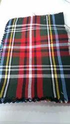 Viscose Checks Fabric