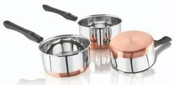 Copper Bottom Sauce Pan
