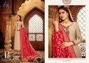 Amira Vol-9 Party Wear for Banarasi Dupatta With Satin And Hand Work Salwar Kameez
