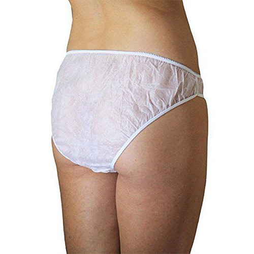 701ff40abf378 White Cotton Disposable Panty