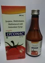 Lycopene With Multivitamin Multiminerals,antioxidant Syrup