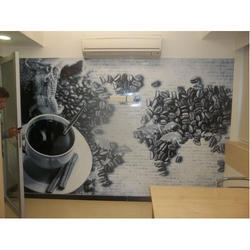 Rectangle PVC Vinyl Commercial Designer Wall Graphics, For Indoor