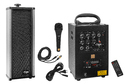 Black Metal Portable System With Echo & 1 External Speaker, 40 Watts