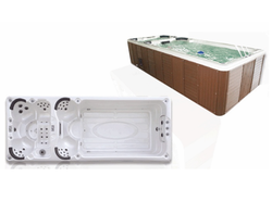 White, Brown Luxurious Spa Jac
