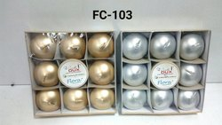 Floating Candle (9pc) Silver/Gold