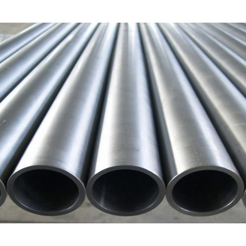 Black Seamless Stainless Steel Pipe, Shape: Round