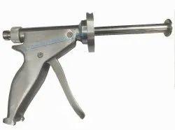 Orthopedic Stainless Steel Cemented Gun