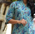 Cotton A-Line Ladies Kurti