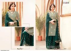 Georgette Partywear Embroiderd Suits