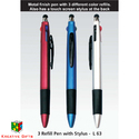 Stylus Pen With 3 Refill