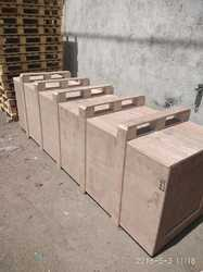 Light Weight Ply Wooden Boxes, Usage: Industrial Product Packing