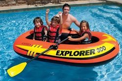 Intex Explorer 300 Inflatable Boat