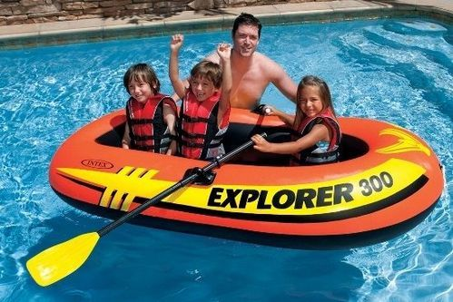 Inflatable Boats - Intex Explorer 300 Inflatable Boat Wholesaler